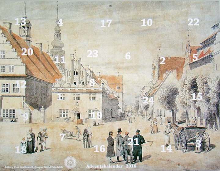 Friedrich-Adventskalender